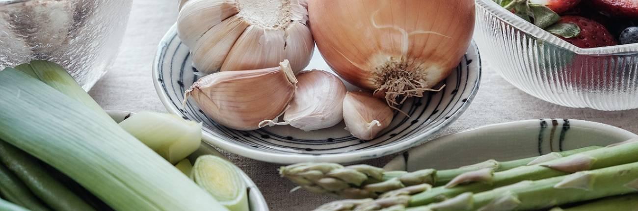 Warzywa w diecie na jelita